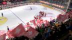 Video «Eishockey: Testländerspiel Schweiz - Deutschland» abspielen