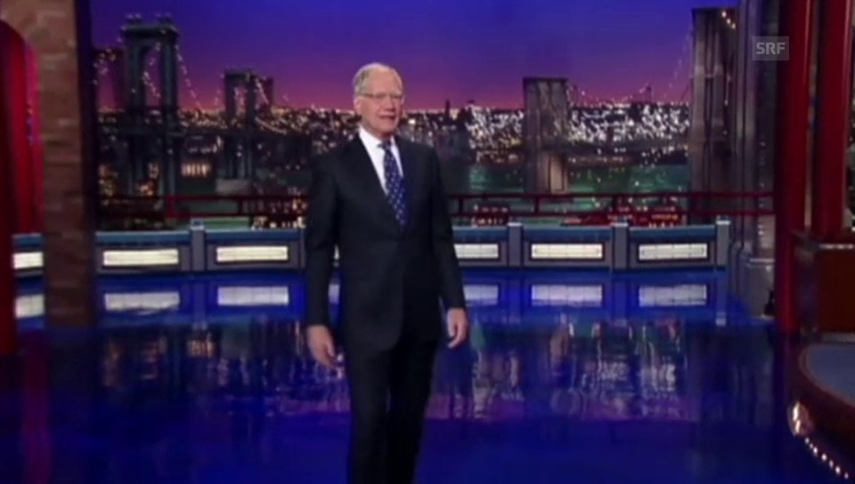 Letterman sagt Goodbye
