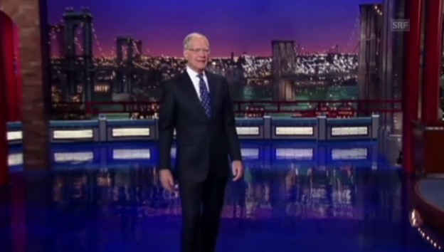 Video «Letterman sagt Goodbye» abspielen