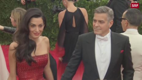 Link öffnet eine Lightbox. Video Milliardendeal für George Clooney abspielen