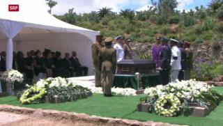 Video «Nelson Mandela beerdigt» abspielen