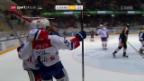 Video «Eishockey: NLA, Lugano - ZSC Lions» abspielen
