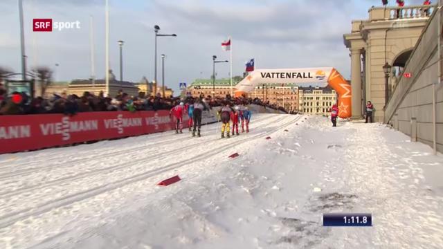 Langlauf: Sprint in Stockholm