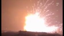 Video «Augenzeugen-Videos der Explosion (ohne Kommentar» abspielen