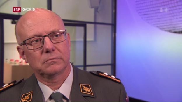 Video «Rebord wird neuer Armeechef» abspielen