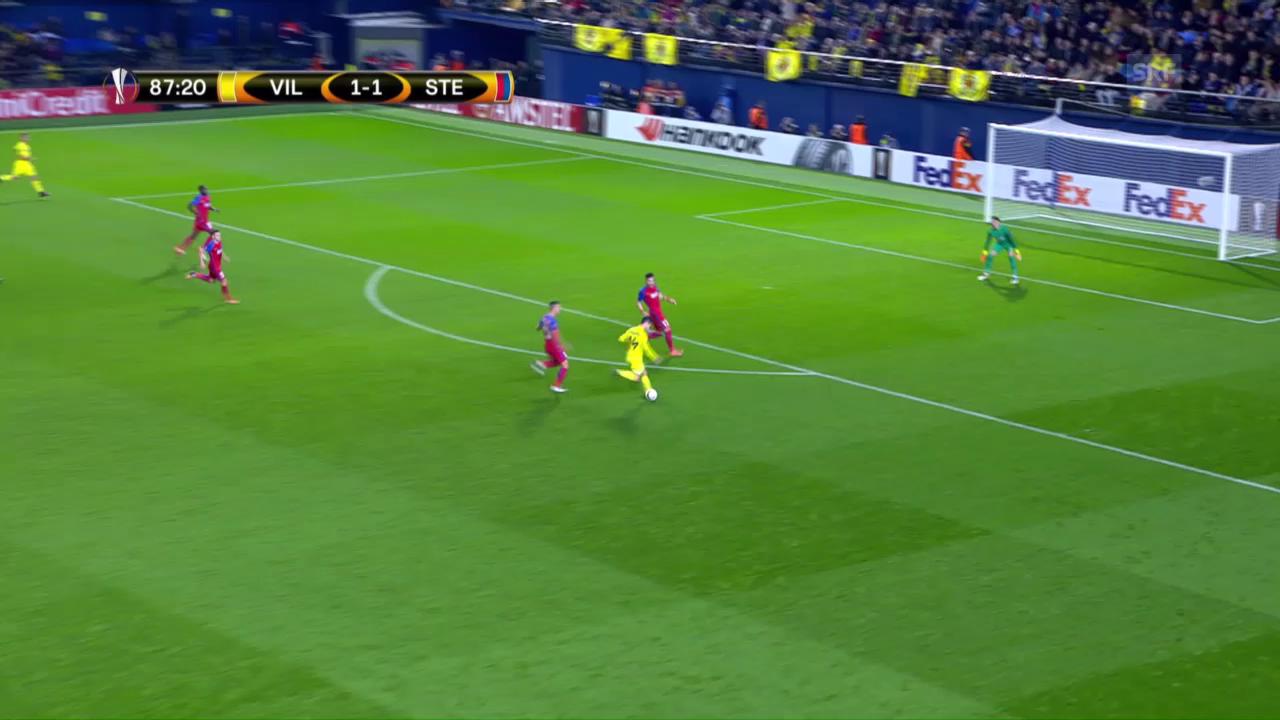Trigueros mit Traumtor: Villarreal schlägt Steaua