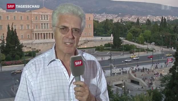 Video «SRF-Korrespondent Werner Van Gent» abspielen