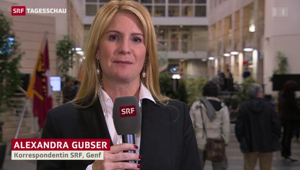 SRF-Korrespondentin Alexandra Gubser zu den Genfer Wahlen