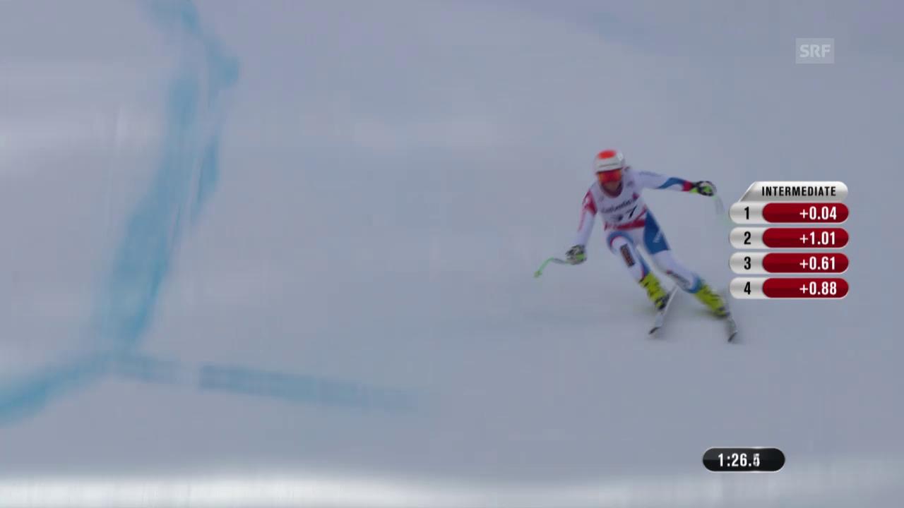 Ski: Trainingsfahrt von Priska Nufer
