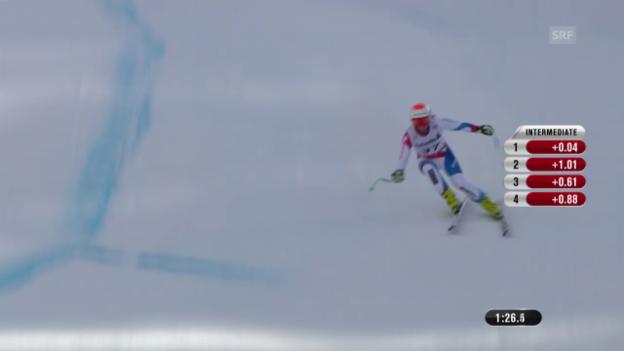 Video «Ski: Trainingsfahrt von Priska Nufer» abspielen
