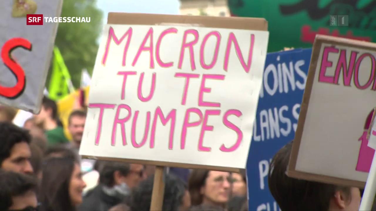 Gegenwind für Reformer Macron