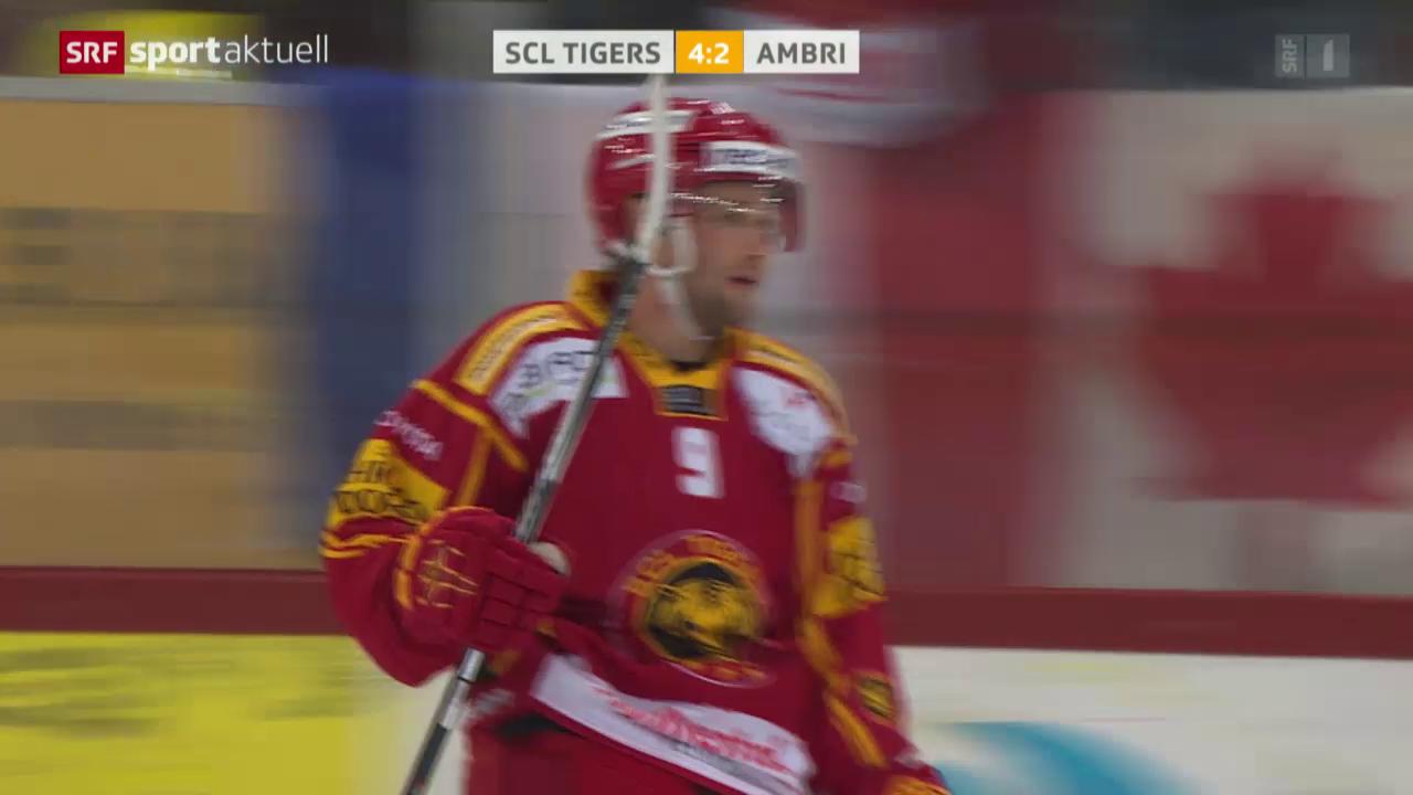 Eishockey: Langnau - Ambri
