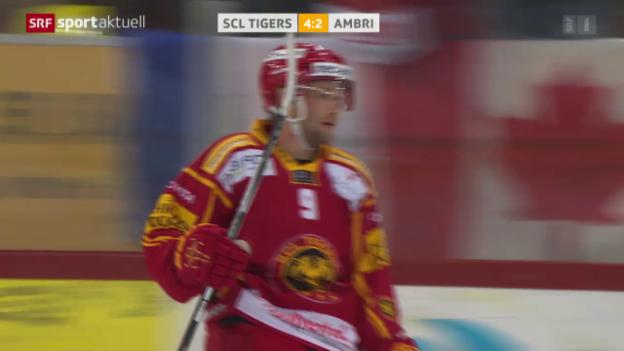 Video «Eishockey: Langnau - Ambri» abspielen