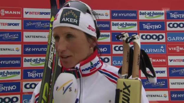 Video «Langlauf: Interview mit Marit Björgen (englisch)» abspielen