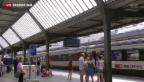 Video «Fahrleitungsstörungen bremsten tausende SBB-Passagiere» abspielen