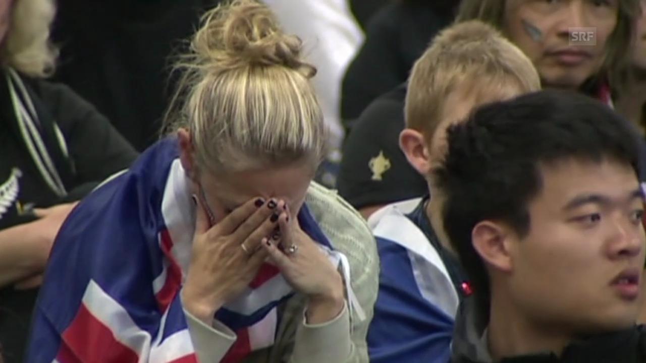 Grosse Enttäuschung in Neuseeland (englisch)