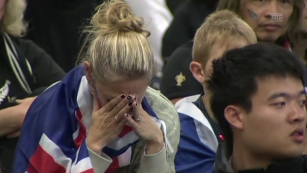 Video «Grosse Enttäuschung in Neuseeland (englisch)» abspielen