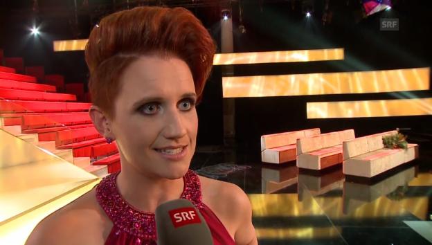 Video «Steffi Buchli über ihren Look» abspielen