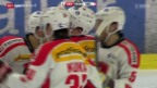 Video «Eishockey: Testspiel Dänemark - Schweiz» abspielen
