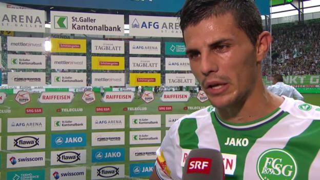 Video «Fussball: Super League, Interview mit Danijel Aleksic» abspielen