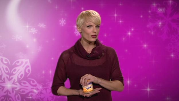 Video «10. Dezember: Stéphanie Berger als Vegi-Köchin» abspielen