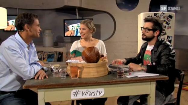Video «Virus - (18) Renzo Blumenthal, ehemaliger Mister Schweiz» abspielen