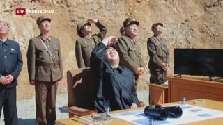 Video «Nordkorea provoziert» abspielen