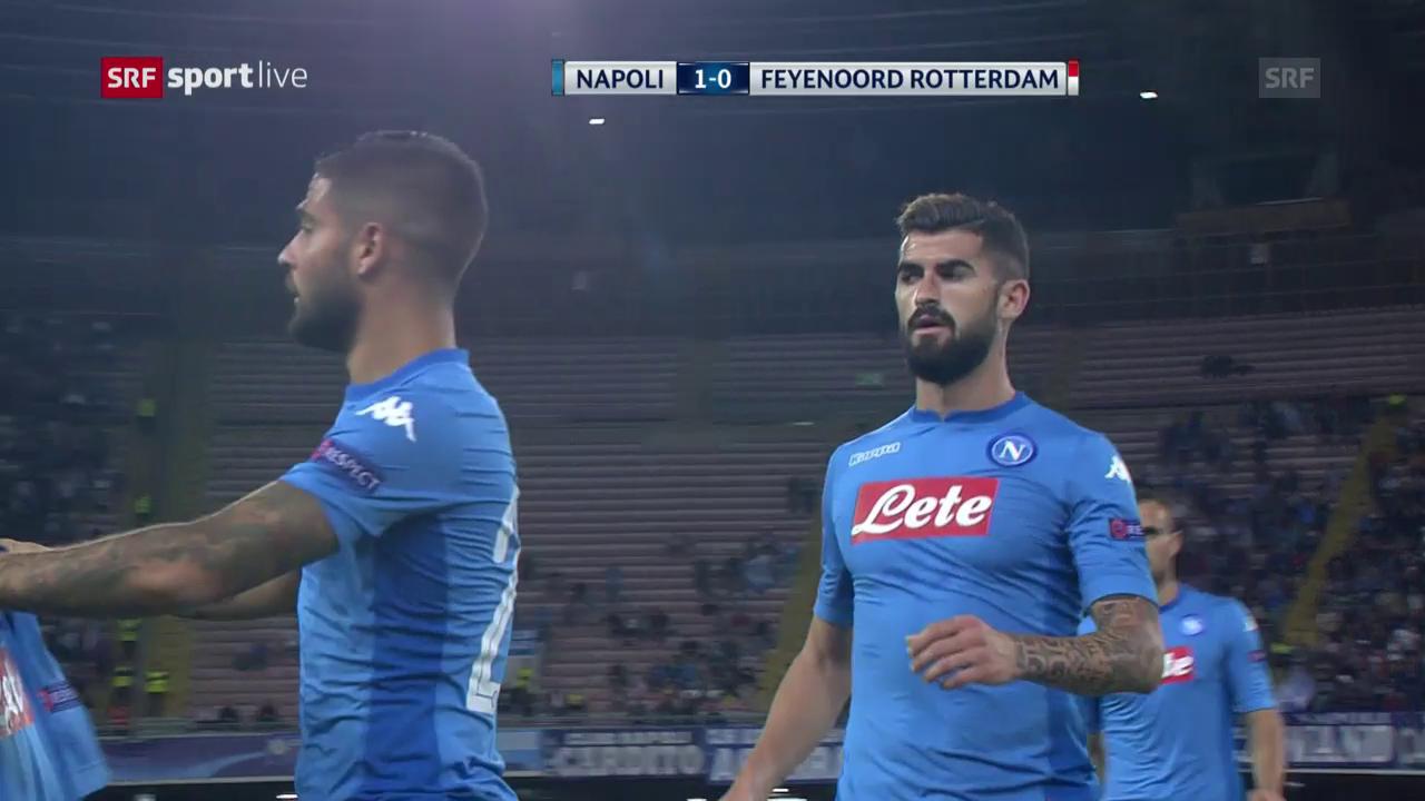 Napoli mit Pflichtsieg gegen Feyenoord