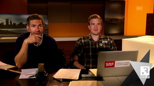 Video «Der ESC-Satire-Kommentar mit Büssi und Beisenherz» abspielen