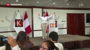 Video «Etappensieg für Keiko Fujimori in Peru» abspielen