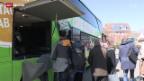 Video «FOKUS: Fernbus-Konkurrenz für die Bahn» abspielen