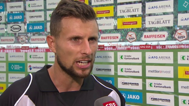 Video «Fussball: Super League, St. Gallen - Lugano: Interview mit Sandro Lombardi» abspielen
