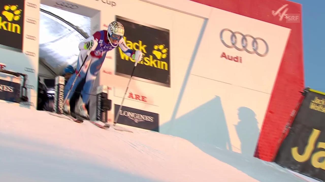 Ski: Weltcup Frauen, Slalom Are, 1. Lauf Michelle Gisin