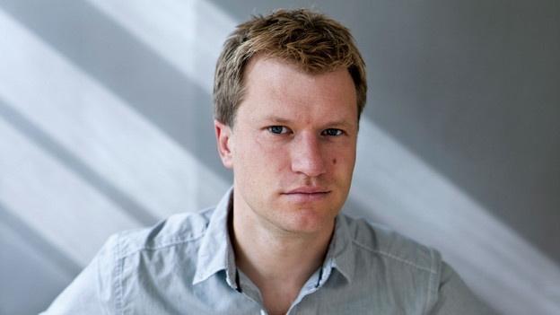 Jens Steiner im Live-Gespräch mit SRF-Literaturredaktor Michael Luisier