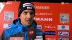 Video «Skispringen: Weltcup-Auftakt von Ammann» abspielen
