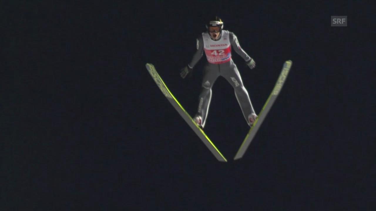 Skispringen: Qualifikation für die Vierschanzentournee in Oberstdorf («sportlive», 28.12.2013)