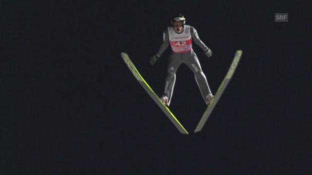 Video «Skispringen: Qualifikation für die Vierschanzentournee in Oberstdorf («sportlive», 28.12.2013)» abspielen