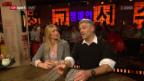 Video «Marathon-Man und Rundschau-Moderator Brotz bei «Chaempieon»» abspielen