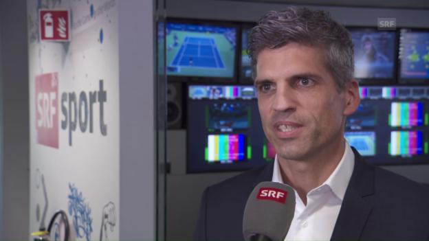 Video «Abteilungsleiter Roland Mägerle zu den Änderungen bei SRF Sport» abspielen
