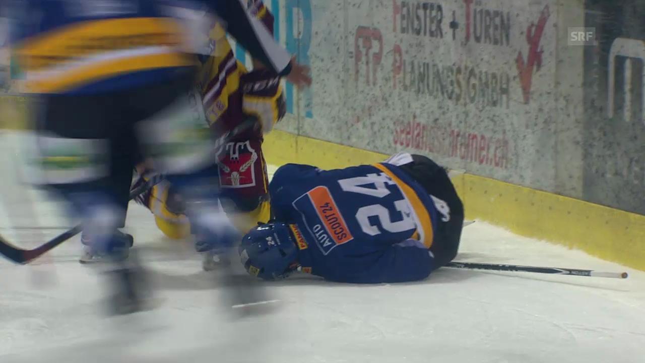 Eishockey: Verletzung von Biels Eliot Berthon
