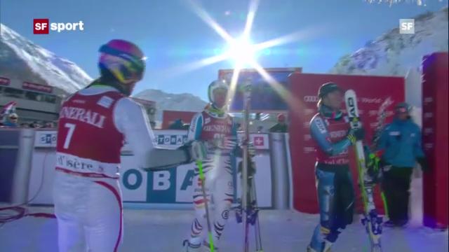 Ski: Männer-Riesenslalom in Val d'Isère («sportpanorama»)