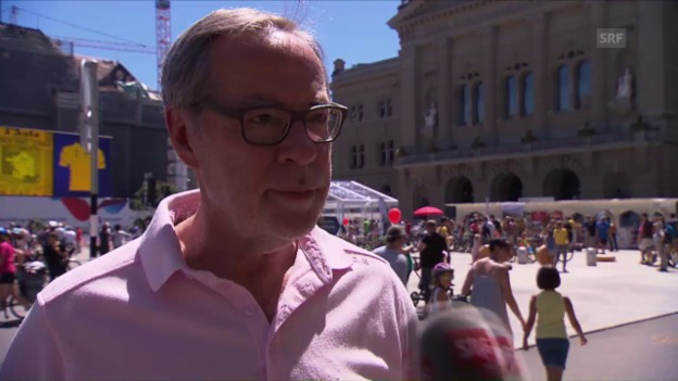 Video «Alexander Tschäppät: «Wünsche mir einen Schweizer Etappensieger»» abspielen
