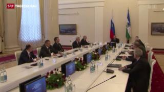 Video «Syrien-Einsatz auch für Moskau gefährlich» abspielen