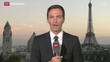 Video «SRF-Korrespondent Michael Gerber zur Stimmung in Frankreich» abspielen