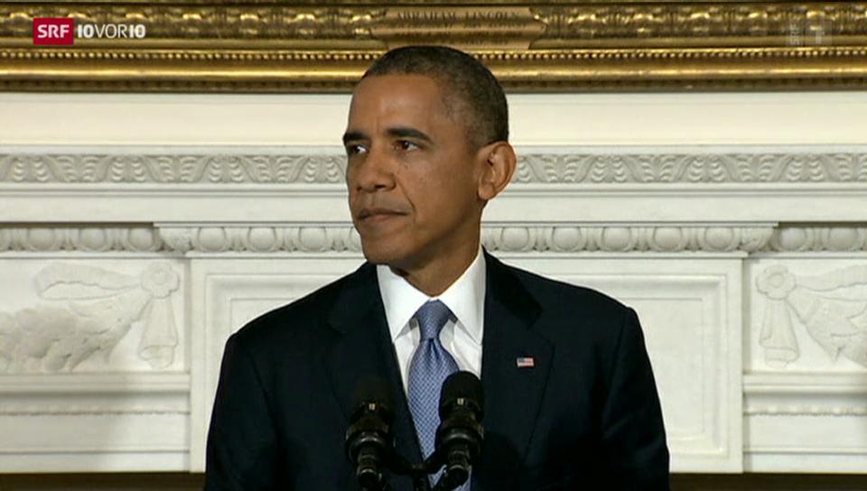 Kritische Worte Obamas