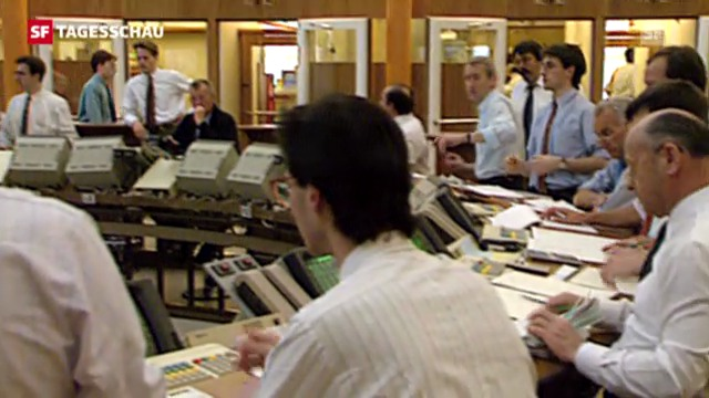 Börsenhandel durch Computer statt Menschen