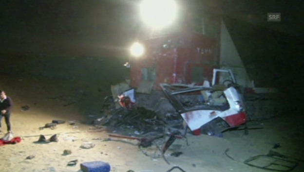 Video «Mindestens 26 Tote bei Zugunglück in Ägypten» abspielen