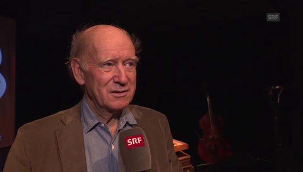 Video «Franz Hohler über die Premiere seines ersten Programms» abspielen