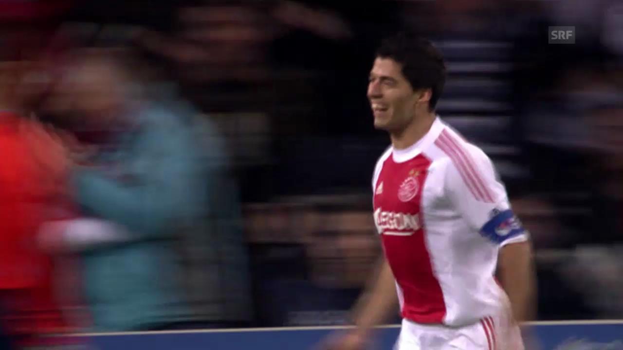 Fussball: Die Club-Karriere von Luis Suarez