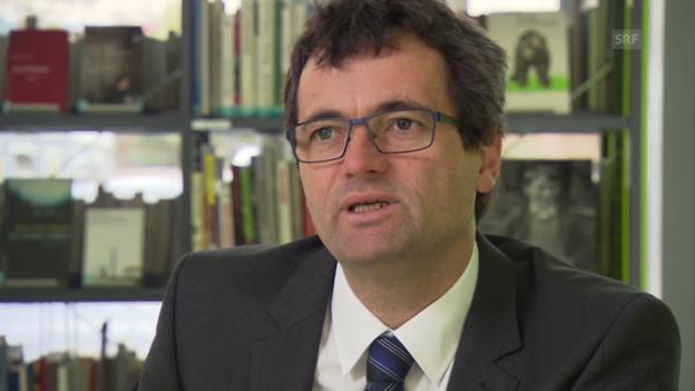Video «Rudolf Minsch über den Zustand der Schweizer Unternehmen» abspielen